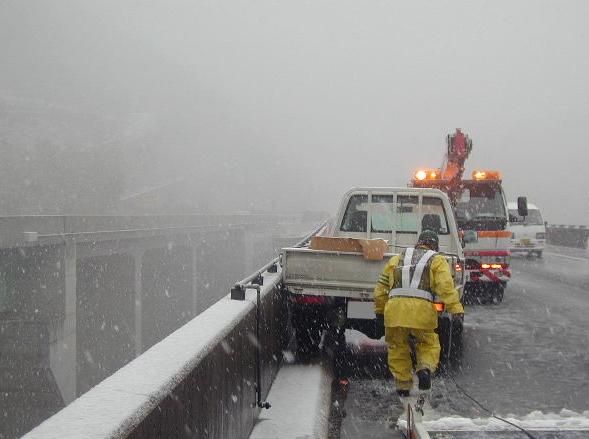 雪中事故救助